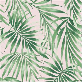 Superfresco Easy Elegant Leaves Blush Pink Wallpaper (H1000 x W52cm)