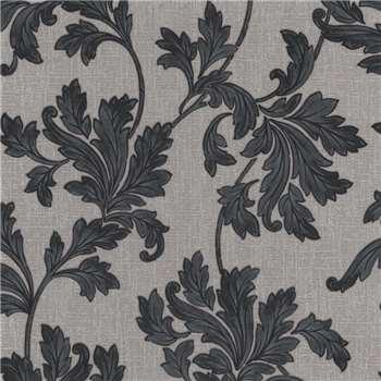 Superfresco Grey Acanthus Wallpaper