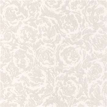 Superfresco Paintables White Swirl Wallpaper