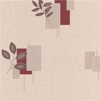Superfresco Red Mellow Wallpaper, Terracotta