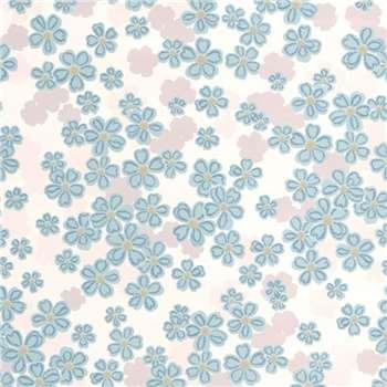Superfresco Teal Woodstock Wallpaper, Blue