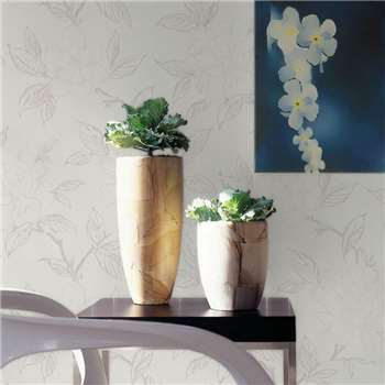 Superfresco White Bloom Wallpaper