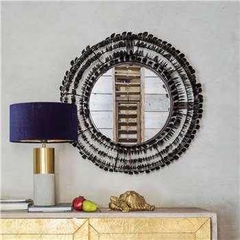 Swan Mirror (H81 x W81 x D17cm)