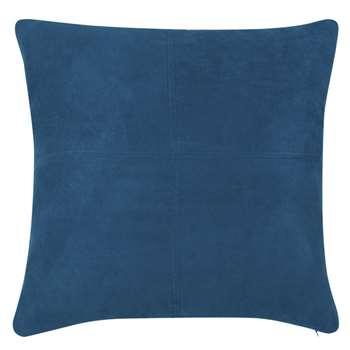 SWEDINE Saxony Blue Cushion (H60 x W60cm)