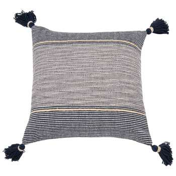 SYRIUS Blue Cotton Cushion Cover (H40 x W40cm)