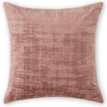 Tabitha Set of 2 Velvet Cushions, Dusky Pink (H45 x W45cm)