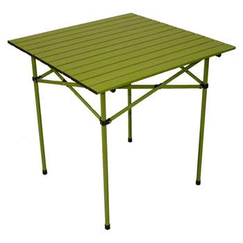 Table in a Bag TA2727G Aluminium Portable Table with Carrying Bag, Green