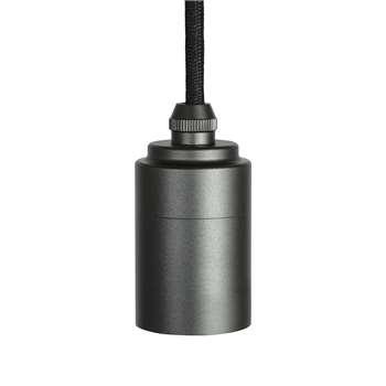 Tala - Metal Pendant - Graphite (H6.5 x W4 x D4cm)