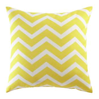 TALAIA outdoor cushion in yellow 45 x 45cm