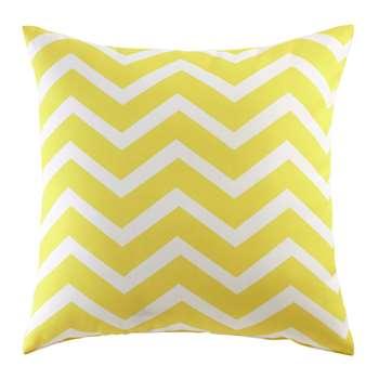 TALAIA outdoor cushion in yellow 45 x 45cm