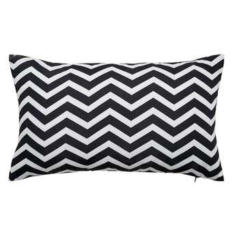 TALAIA white/black outdoor cushion (30 x 50cm)