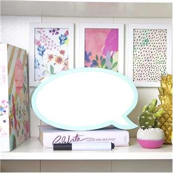 Talking Tables - Speech Bubble LED Light Box (H16 x W28cm)
