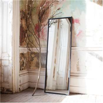 Tall Iron Mirror (H180 x W60 x D3cm)