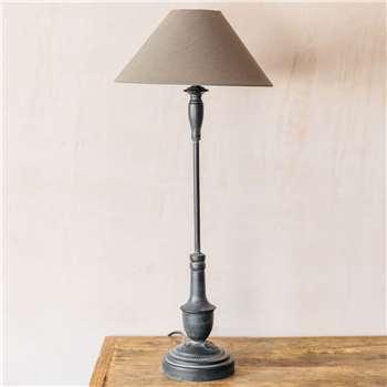 Tall Metal Table Lamp (H69 x W29 x D29cm)