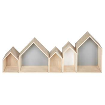TALVIK tricoloured shelf (H35 x W93.5 x D13cm)