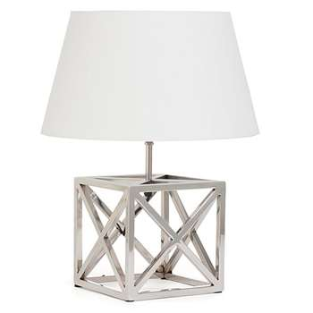 Tara Design Table Lamp (H25 x W25 x D25cm)