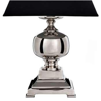 Tate Nickel Lamp Base (32 x 15cm)