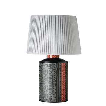 Tatiana Lamp - Black/Red (39 x 24cm)