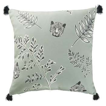 TAWI Khaki Outdoor Cushion with Print 45x45 (H45 x W45 x D10cm)