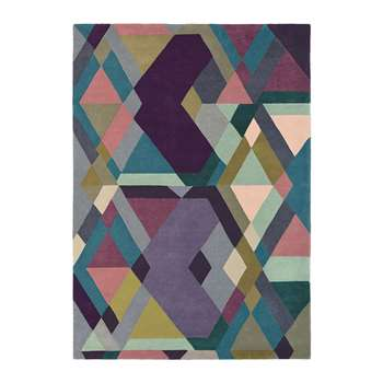Ted Baker - Light Purple Mosaic Rug - 170x240cm (H170 x W240cm)