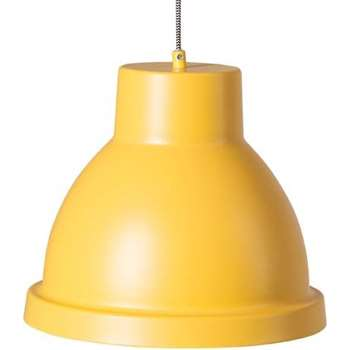 Ted Pendant Light, Mustard (25 x 30cm)