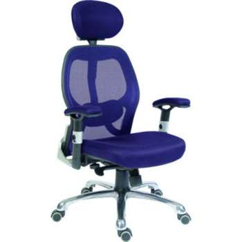 Teknik Office Cobham Blue Mesh Executive Chair 43-55 x 53cm