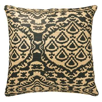 Tenganan Cushion Cover - Noir (51 x 51cm)
