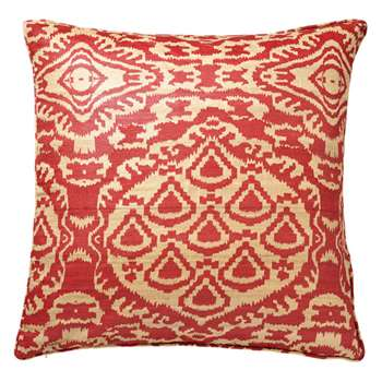 Tenganan Cushion Cover - Red (51 x 51cm)