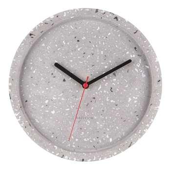 Terrazzo wall clock (H26 x W26 x D5cm)