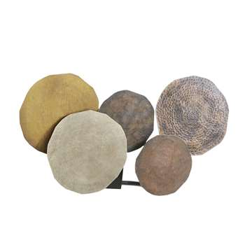 TERRITOIRE Bronze Metal Discs Wall Lamp (H30 x W48.5 x D16cm)