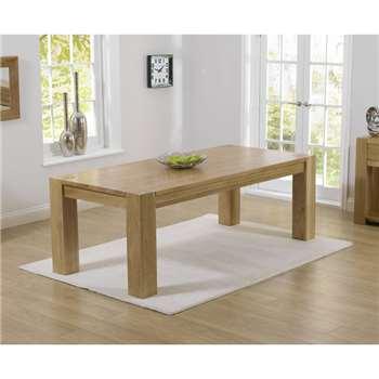 Thames 300cm Oak Dining Table (77 x 300cm)