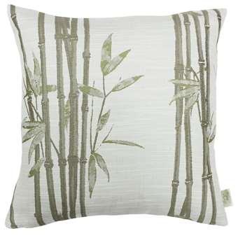 The Chateau By Angel Strawbridge Bamboo Cushion - Natural (H43 x W43cm)