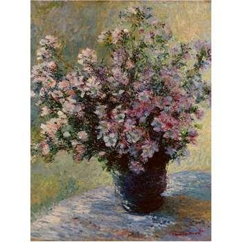 The Courtauld Gallery, Claude Monet - Vase of flowers 1881-2 Print - Frameless 80 x 60cm
