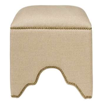 The Fauntleroy Stool - Natural (H47 x W49 x D49cm)