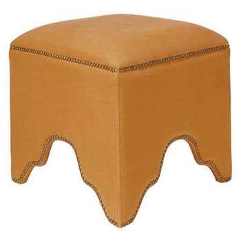 The Fauntleroy Stool - Rust (H47 x W49 x D49cm)