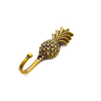 The Foundryman - Pineapple Wall Hook (H7.6 x W2.5cm)
