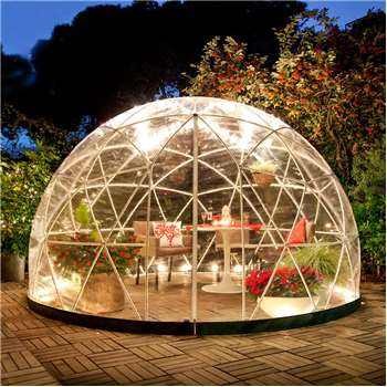 The Garden Igloo 360 Dome with PVC Weatherproof Cover (H220 x W360 x D360cm)