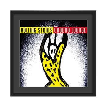 The Rolling Stones Framed Album Wall Art in Voodoo Lounge Print - Medium (46 x 46cm)