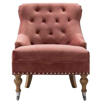 Thea Occasional Chair Pink (H83 x W63 x D73cm)
