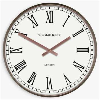 Thomas Kent Aidan Wall Clock, Gold (H40 x W40 x D6cm)