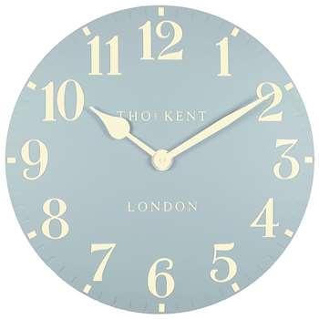 Thomas Kent Arabic Wall Clock, Blue (Diameter 50cm)