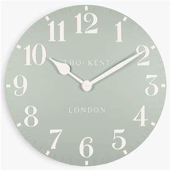 Thomas Kent Arabic Wall Clock, Sorrel (H30 x W30 x D3.5cm)