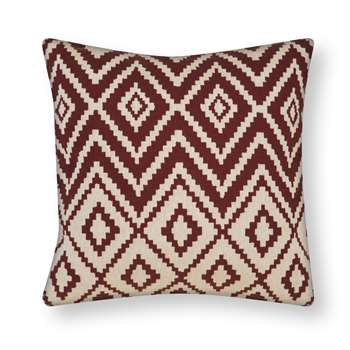 Thoresby Cranberry Tapestry Cushion