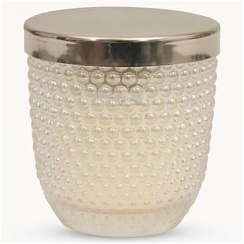 Thornton Peony & Rose Fragrance Glass Candle with Metal Lid (7.7 x 7.3cm)