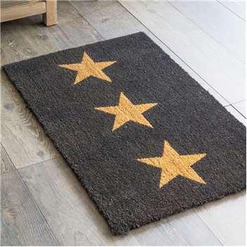 Three Star Doormat (H60 x W90cm)