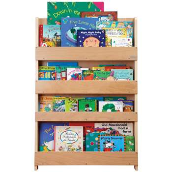 Tidy Books Bookcase, Natural (115 x 77cm)