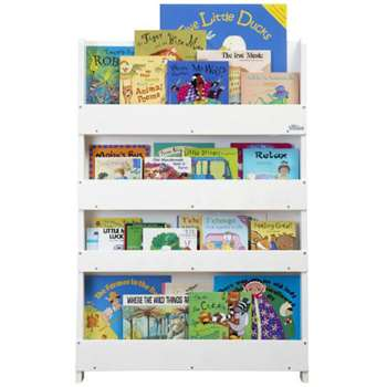 Tidy Books Bookcase, White (115 x 77cm)