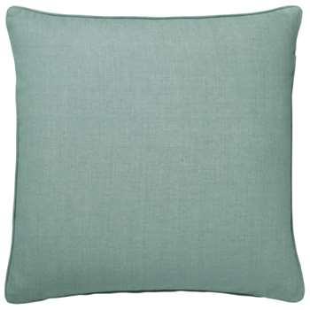 Tight Weave Linen Cushion Cover, Large - Gainsborough Blue (51 x 51cm)