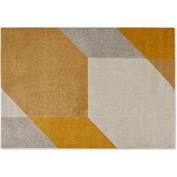 Timanti Low Pile Rug, Large, Yellow (H160 x W230cm)
