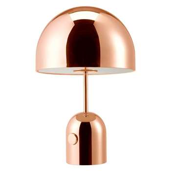 Tom Dixon - Bell Copper Table Lamp (H44 x W28 x W28cm)